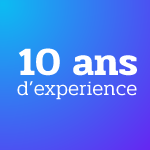 10 ans d'experience